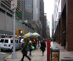 """52nd Street (Manhattan) - 52nd Street between Sixth and Seventh Avenues is """"W. C. Handy's Place"""""""