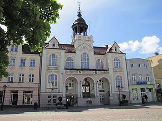 Wejherowo Place in Pomeranian Voivodeship, Poland