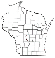 Location of St. Francis, Wisconsin
