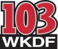 WKDF former logo (2001-2012).png