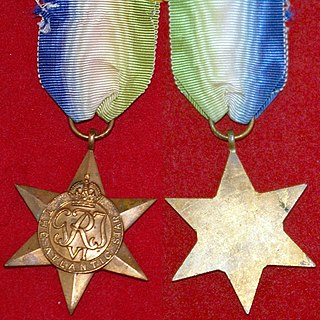 Atlantic Star Military campaign medal