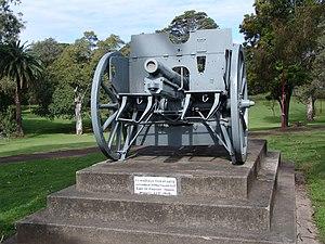 Granville Ryrie - Image: WWI Field Gun 316
