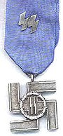 Waffen-SS Long Service Award 12year in Silver.jpg