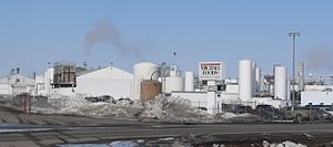 Food processing - Michael Foods egg-processing plant in Wakefield, Nebraska