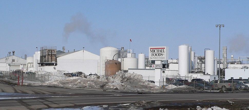 Wakefield, Nebraska Michael Foods plant
