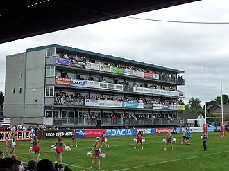 Belle Vue (Wakefield) - Image: Wakefield Trinity Wildcats hospitality suites (geograph 5814488)