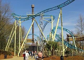 Tiki-Waka (roller coaster) Steel roller coaster at Walibi Belgium