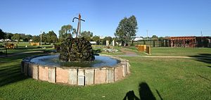 First Fleet - The First Fleet Memorial Garden, Wallabadah, New South Wales