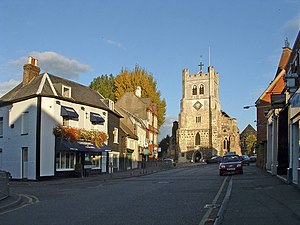 Waltham Abbey (town) - Image: Waltham Abbey, Essex geograph.org.uk 311778