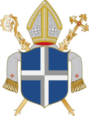 Bishopric of Havelberg - Image: Wappen Bistum Havelberg