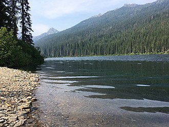 Wenatchee National Forest - A view of Waptus Lake