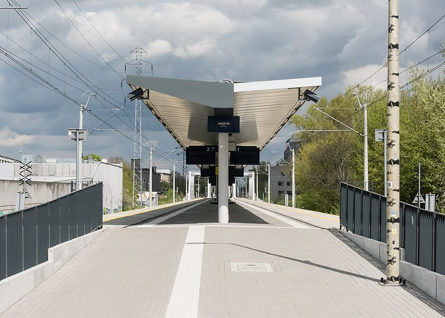 Warszawa Wola railway station