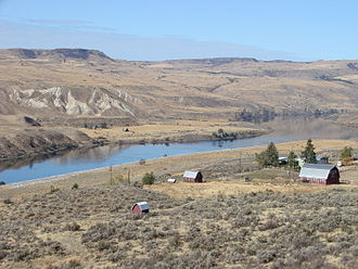 Okanogan County, Washington - Landscape near Okanogan, Washington
