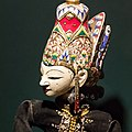 Wayang menak puppet in the collection of the Great Mosque of Central Java, 2014-06-17 cropped.jpg