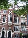 foto van Herenhuis met tuinhuis