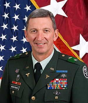 Walter Reed Army Medical Center neglect scandal - Maj. Gen. George W. Weightman, commander of Walter Reed, relieved of duty March 1.