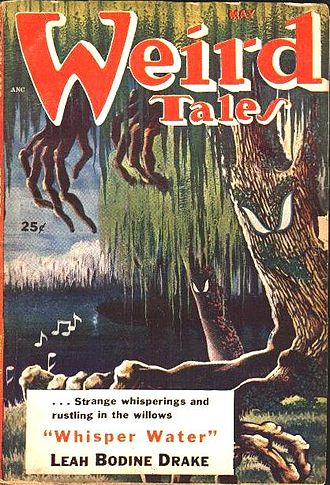"Leah Bodine Drake - Drake's ""Whisper Water"" was the cover story in the May 1953 Weird Tales"