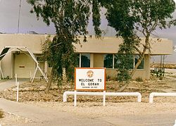 Welcome to El Gorah - The MFO Canadian Rotary Wing Aviation Unit HQ, 1989