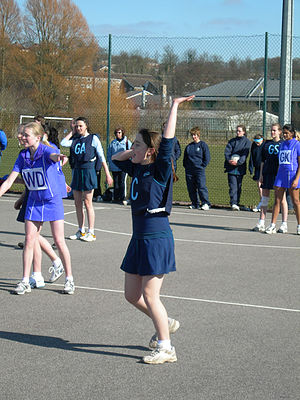 Netball in New Zealand - Junior netball competition in Wellington.