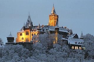 Wernigerode Castle château