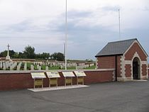 Wider view of Fromelles (Pheasant Wood) Military Cemetery.JPG
