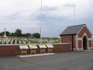 Fromelles (Pheasant Wood) Military Cemetery cemetery located in Nord, in France