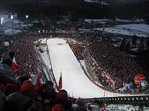 Kraków bid for the 2022 Winter Olympics - Wielka Krokiew planned for ski jumping and Nordic combined