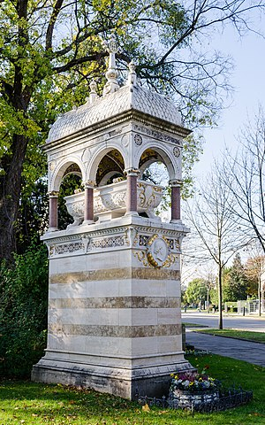 Carl Ritter von Ghega - Grave at the Vienna Central Cemetery