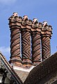 Wightwick Manor Chimneys 4 (3916707816).jpg