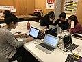 Wikimujeres en el Medialab Prado enero 2017.jpg