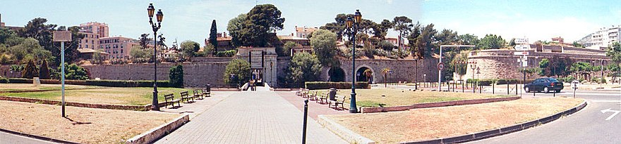 The Porte d'Italie, built by Vauban. Napoleon departed from this gate in 1796 on his Italian campaign. Wikipedia-porte-italie.jpg