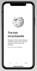 Wikipedia iOS app November 2017 mockup 1.png