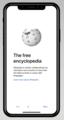 Wikipedia iOS app November 2017 mockup 1.png