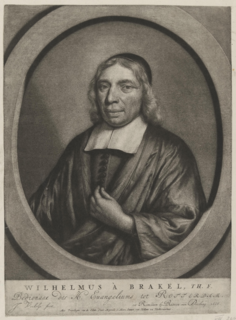 Wilhelmus à Brakel Dutch theologian