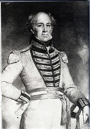 Government of Singapore - Maj.-Gen. William Farquhar (1774–1839), who served as Singapore's first Resident from 1819 to 1823