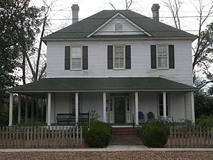 National Register of Historic Places listings in Lee County, South Carolina - Image: William Apollos James house 3