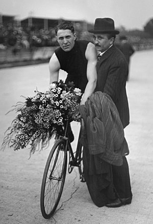 William Bailey (cyclist) - Image: William Bailey 1920