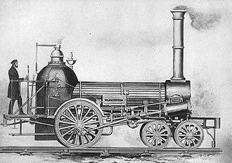 "Philadelphia and Columbia Railroad - The ""Washington"" (1836)"