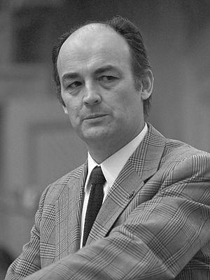 Willem Aantjes - Willem Aantjes in 1974