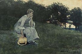 Winslow Homer - Waiting (1880).jpg