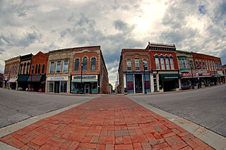 Winterset Courthouse Square Commercial Historic District United States historic place