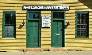 Winterville, Georgia - Image: Winterville Train depot