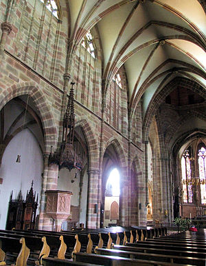 St. Peter and St. Paul's Church, Wissembourg - Image: Wissembourg Eglise Saint Pierre et Saint Paul 2