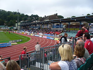 Withdean Stadium - North Stand