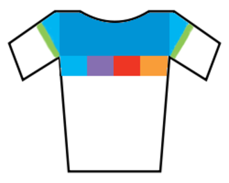 2014 Tour of Flanders for Women - Image: Womens World Cup leaders jersey