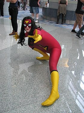 Cosplay de Spider-Woman.