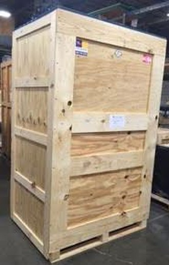 Crate - Wooden crate with cleating