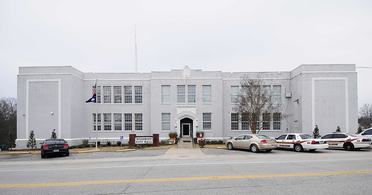 Old Woodruff High School Woodruff South Carolina