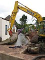 Work continues on the flood alleviation scheme - geograph.org.uk - 910141.jpg