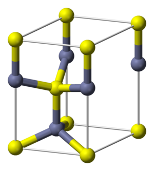 Wurtzite crystal structure - Wurtzite unit cell